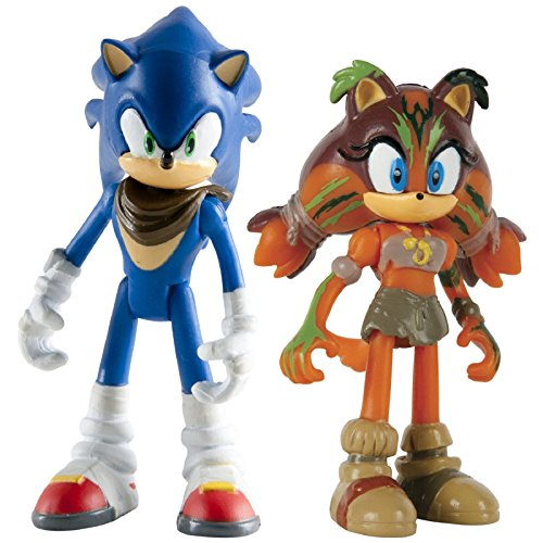 Sonic Boom Small Figure 2 Pack- Sonic & Sticks