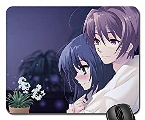 Anime Couple Mouse Pad, Mousepad (10.2 x 8.3 x 0.12 inches)