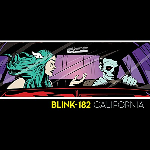 Blink 182 Vinyl - California (Deluxe Edition)(2-LP, 180 Gram Black Vinyl, Download Card)