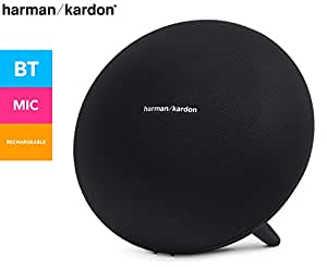 Harman/Kardon Onyx Studio 3 - Altavoz portátil (60 W, 50-20000 Hz, 2.4-2.48 GHz, inalámbrico y alámbrico, Bluetooth 4.1, A2DP, AVRCP), Color Negro