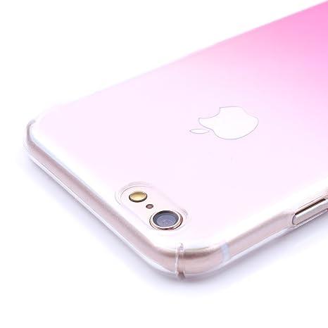 iprotect Carcasa rígida Apple iPhone 7 y 8 Funda Dura - Degradado Fucsia