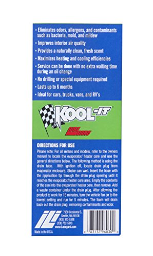 512zE A7uCL 12X Lubegard 96030 Kool It Evaporator and Heater Foam Cleaner  FRESH CLEAN AIR !