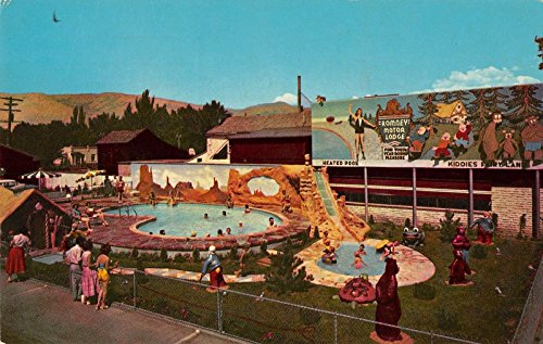 (Salt Lake City Utah Scotty's Romney Motor Lodge Vintage Postcard)