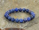 AAA Grade 8mm Sodalite Bracelet, Throat Chakra, Weight Loss, Meditation Mala, Yoga Gifts,EMF Protection-Self Confidence-Emotionally Soothing
