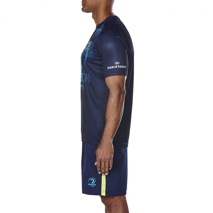 Leinster Rugby Vapodri, Camiseta Gráfica 17/18, Hombre, Peacoat ...