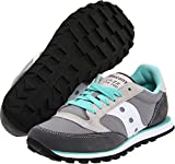 Saucony Originals Women's Jazz Low Pro Sneaker,Grey/White,9.5 M US