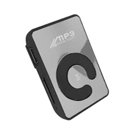 Mini Reproductor de MP3 con Clip de Espejo Portátil Moda ...