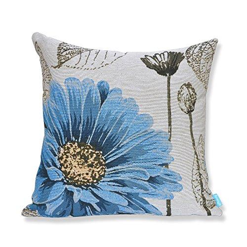 Milesky Embroidery Decorative Throw Pillowcase