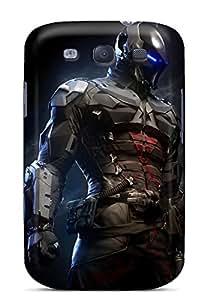 Cute Tpu Phone Case Batman Arkham Knight Case Cover For Galaxy S3
