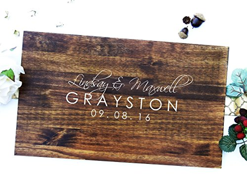 Wedding Guest Signing Board, a unique Wedding Guest Book Alternative & Wedding Keepsake. sign #12