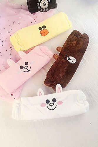 Generic Korea hair accessories cartoon animals cute rabbit face Women Headband Hairband raging headbang hair bang head hoop broad-brimmed cloth headband bathing caps by Generic (Image #2)