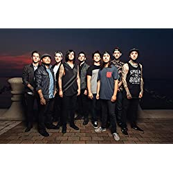 Pierce The Veil & Sleeping With Sirens 2014 World Tour band 11x14 poster photo