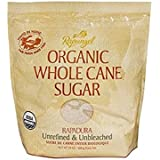 Rapunzel Pure Organic Whole Cane Sugar, 24 Ounce (Pack of 12)