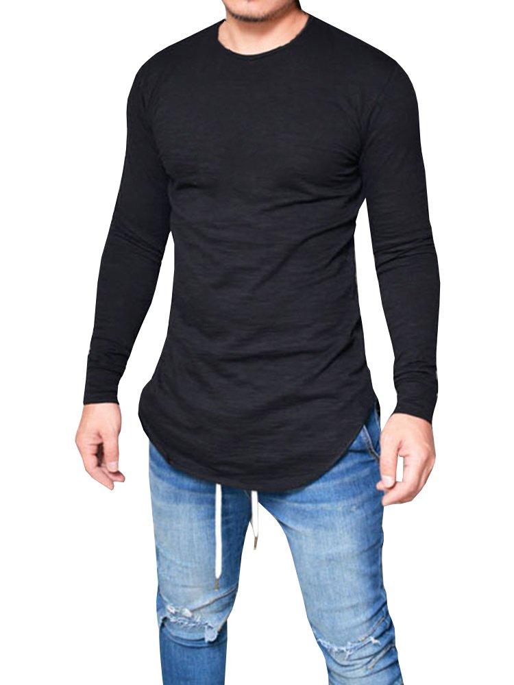 Karlywindow SHIRT メンズ B0792NFXVQ L|ブラック ブラック L