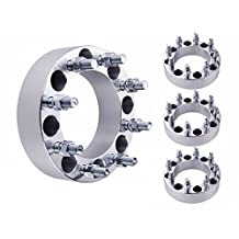 """4X 2"""" Ford 8x6.5 Wheel Spacers Adapters for 9/16"""" Studs 1988-1997 F350"""