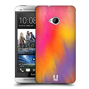 Head Case Designs Rainbow Tie Dye Hard Back Case Cover for HTC One