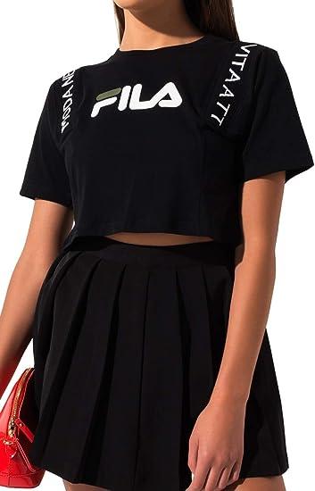 Fila Apolline Crop Tee at Amazon Women's Clothing store
