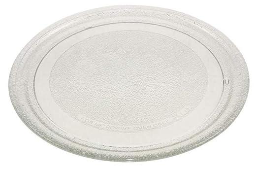 LG / Goldstar - Plato Giratorio para microondas (24,5 cm, sin lengüeta Central)