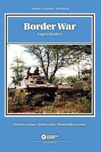 compras de moda online DG  Border War, Angola Raiders, Board Juego by by by Decision Juegos  tienda de ventas outlet