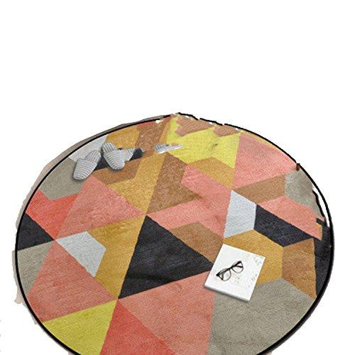 Homesuns Beach Towels Room Carpet Geometric Yoga Mat Sofa Floor Mats Doormat Kids Crawling Play Mat Area Rugs,150x150cm,E