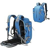 Camera Backpack Waterproof Travel Camera Bag for Canon, Nikon, Sony, Olympus, Samsung, Panasonic SLR DSLR Camera