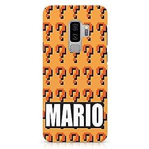 Loud Universe Mario Brother Samsung S9 Plus Case Mario Pattern Samsung S9 Plus Cover with 3d Wrap around Edges