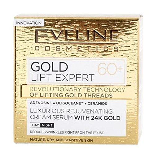 Luxurious Rejuvenating Cream Serum With 24K Gold 60+ Day/Night