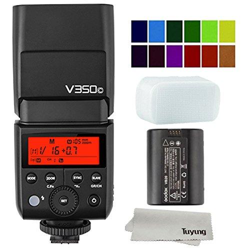 Godox V350C Li-ion Battery Powered 2.4G Wireless Mini TTL Speedlite Flash for Canon Cameras M3 M5 M6 M50 1300D 750D 200D 5D 6D 7D 80D 100D 600D 800D 70D 700D 77D 2000D 4000D D3400