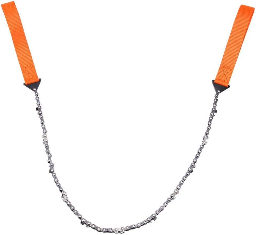 Tron/çonneuse de survie scie /à cha/îne portative de survie scie /à cha/îne de secours avec sac outil de randonn/ée de camping