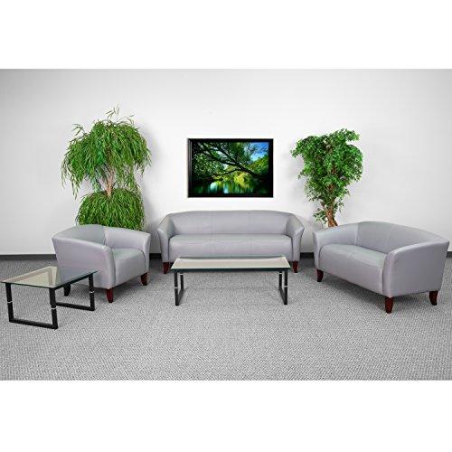 - Flash Furniture HERCULES Imperial Series Reception Set in Gray
