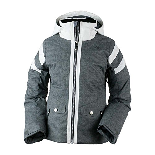 Obermeyer Kids Girl's Dyna Jacket (Big Kids) Light Heather Grey Small by Obermeyer Kids