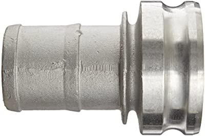 Dixon Aluminum Type E Cam and Groove Reducing Fitting, Plug x Push-On