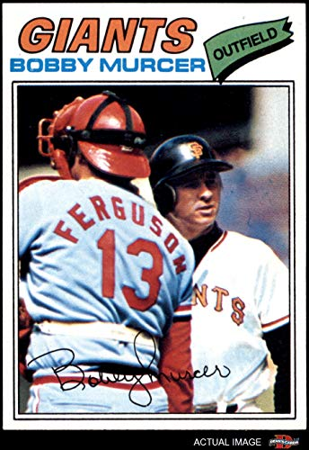 1977 Topps # 40 Bobby Murcer San Francisco Giants (Baseball Card) Dean's Cards 7 - NM Giants