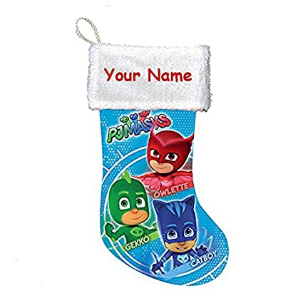 Personalized Disney PJ Masks Christmas Stocking Decoration - 17 Inches