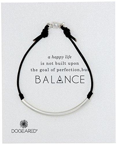 Dogeared Balance Sterling Silver Bracelet