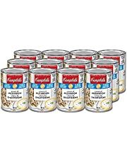 Campbell's Red and White 40% Less Sodium Cream of Mushroom Soup, 284ml, 12-Count