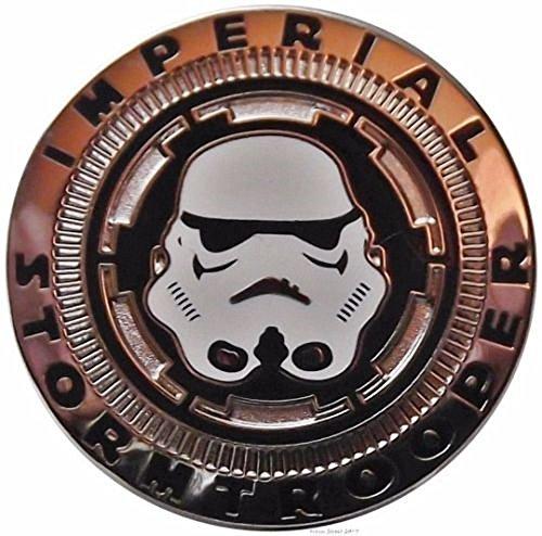 Star Wars Imperial Storm Trooper Helmet 1 1 4  Wide Metal Enamel Pin