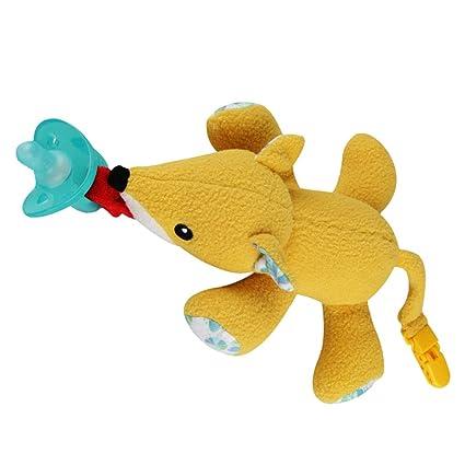 FITYLE Chupete De Infantil De Dibujos Animados Animales Felpa ...