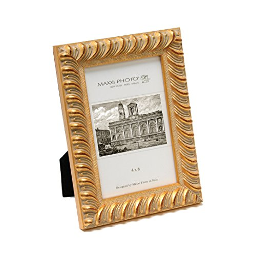 Maxxi Designs Photo Frame with Easel Back, 4 x 6