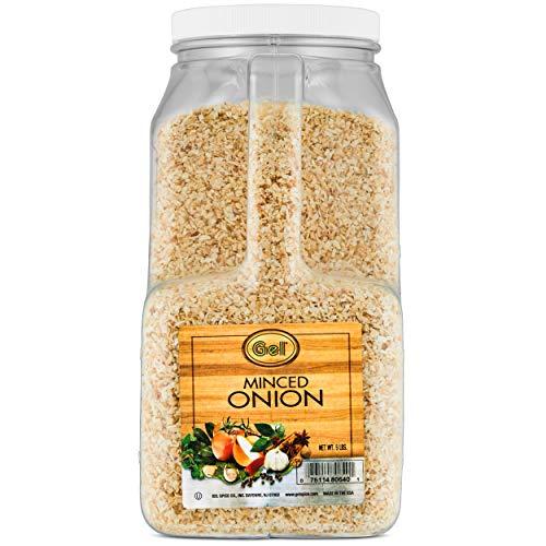 Gel Spice Minced Onion 5 Lb | Food Service Size