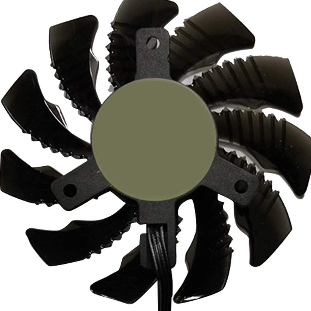 heaven2017 P104 75mm 4Pin Video Graphics Card Cooler Cooling Fan for 1070 1080 One Cooling Fan