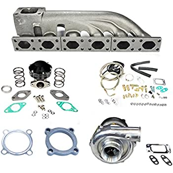 Rev9Power Rev9_TCK-023; Bmw 325 328 330 E36 E46 92-98 99-05 GT30 Turbo Set Up Kit