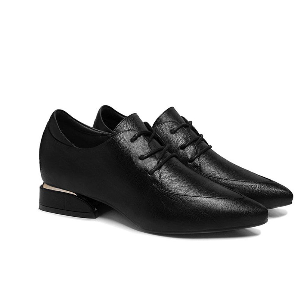 GYHDDP Zapatos de Cuero PU de Primavera \ Zapatos Cómodos Acentuados \ Zapatos Casuales de Moda Zapatos de Mujer (Dos Colores Opcionales) 36 EU|A
