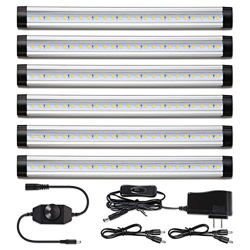 Strip Lighting Under Kitchen Cabinet: LED Under Counter Lighting Dimmable