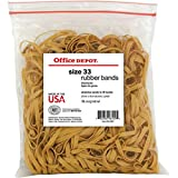 317700 Office Depot Rubber Bands In 1 Lb. Bags-SET OF 2