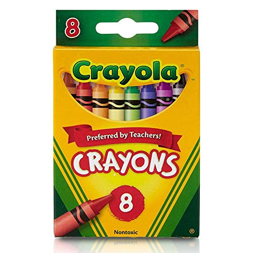 Colors Count 8 Classic - Crayola 52-3008 Crayons Assorted Colors 8 Count