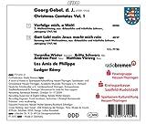 Georg Gebel d.J.: Christmas Cantatas Vol. 1
