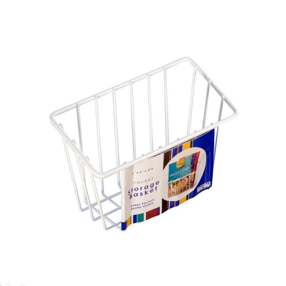 Organized Living White Packet Basket