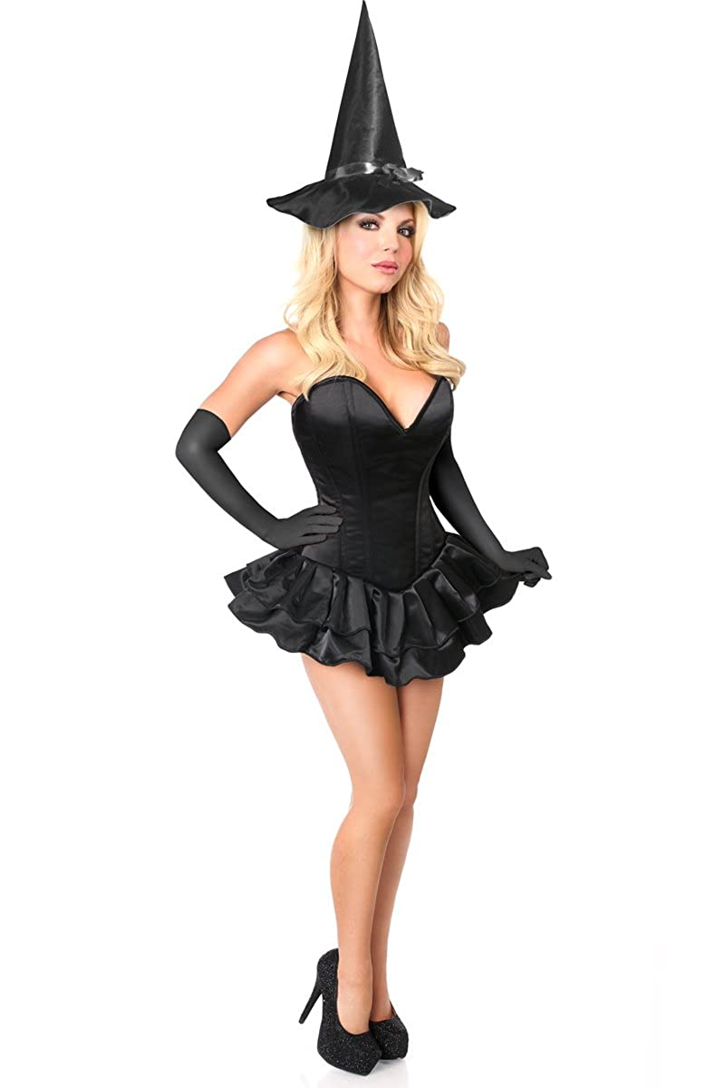 3af667c7462 Daisy Corsets Women's Top Drawer Plus Size Witch Corset Costume
