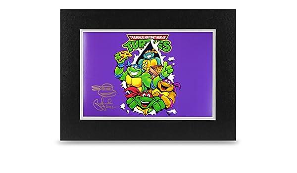 Peter Laird firmado 16 x 12 foto autógrafo Tortugas Ninja ...